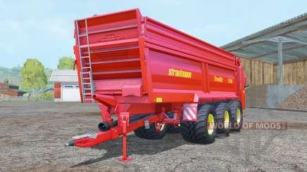 Strautmann PS 3401 vivid red für Farming Simulator 2015