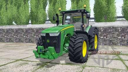 John Deere 8295R green pour Farming Simulator 2017