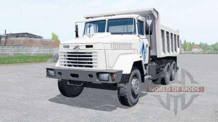 KrAZ-65055 weiße Farbe für Farming Simulator 2017