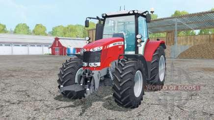 Massey Ferguson 6613 change wheels für Farming Simulator 2015