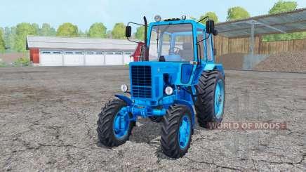 MTZ 82 Biélorussie céleste couleur bleu pour Farming Simulator 2015