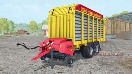 Veenhuis Combi 2000 ripe lemon pour Farming Simulator 2015