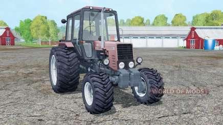 MTZ-82.1 ninasimone-rouge pour Farming Simulator 2015