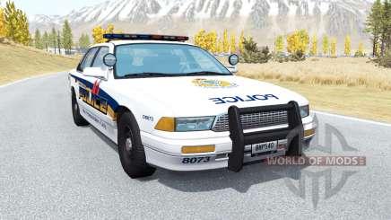 Gavril Grand Marshall Vancouver Police pour BeamNG Drive