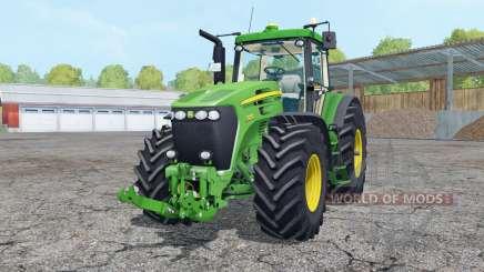 John Deere 7920 vivid malachite pour Farming Simulator 2015