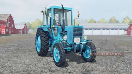 MTZ-80 Belarus helle Blaue Farbe für Farming Simulator 2013