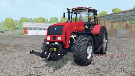 La biélorussie 3522 de couleur rouge vif pour Farming Simulator 2015
