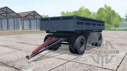 Nefas-8560 dunkel Grau-Blaue Farbe für Farming Simulator 2017