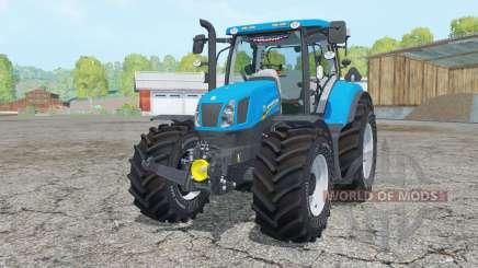 New Holland T6.175 process cyan pour Farming Simulator 2015