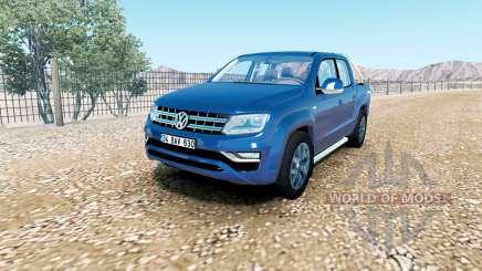 Volkswagen Amarok Double Cab Highline 2016 pour American Truck Simulator