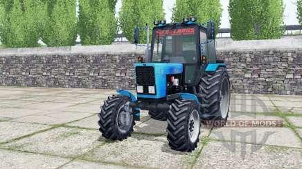 MTZ-82.1 de la Biélorussie avec chargeur pour Farming Simulator 2017