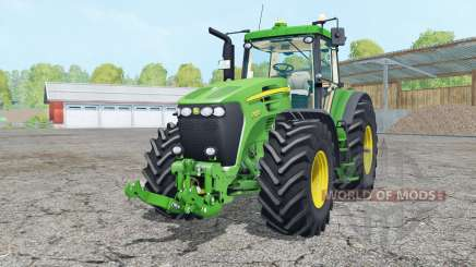 John Deere 7920 vives malachitᶒ pour Farming Simulator 2015