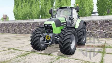 Deutz-Fahr Agrotron 7210 TTV soft lime green pour Farming Simulator 2017