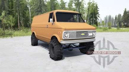 Chevrolet G10 1975 pour MudRunner