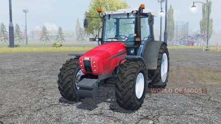 Same Explorer 105 radical red pour Farming Simulator 2013