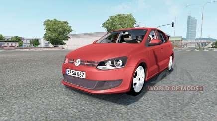 Volkswagen Polo 5-door (Typ 6R) 2010 pour Euro Truck Simulator 2