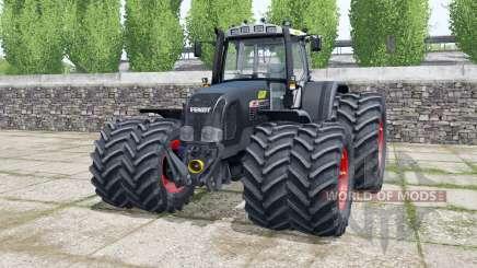 Fendt Favorit 920 Vario dark gunmetal pour Farming Simulator 2017