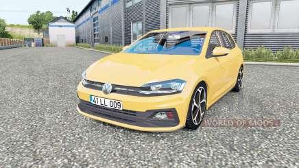 Volkswagen Polo R-Line (Typ AW) 2017 für Euro Truck Simulator 2