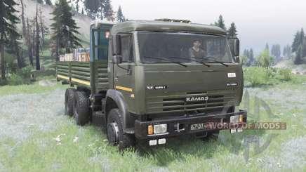 KamAZ-53228 für Spin Tires