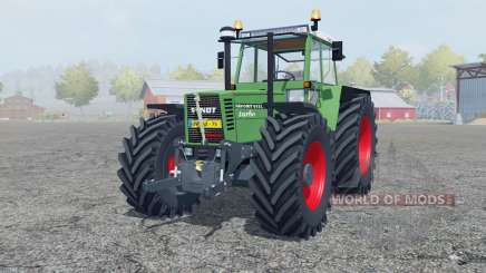 Fendt Favorit 615 LSA Turbomatik chateau green für Farming Simulator 2013