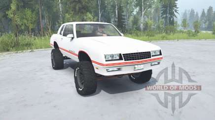 Chevrolet Monte Carlo SS 1986 lifted pour MudRunner