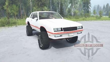 Chevrolet Monte Carlo SS 1986 lifted für MudRunner