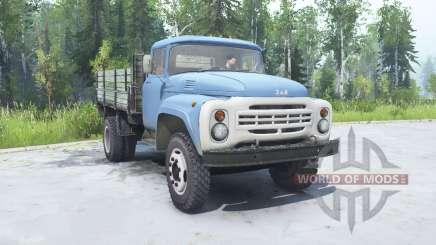 ZIL 130 soft-couleur bleu pour MudRunner
