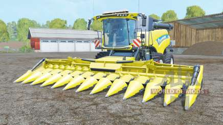 New Holland CR10.90 titane yellꝍw pour Farming Simulator 2015