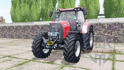 Case IH Puma 165 CVX bright red pour Farming Simulator 2017