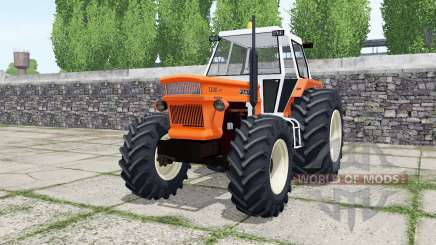 Fiat 1300 DT super vivid orange für Farming Simulator 2017
