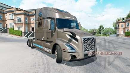 Volvo VNL 860 Globetrotter cab 2019 pour American Truck Simulator