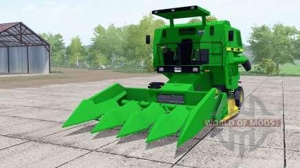 SLC 6200 green pour Farming Simulator 2017
