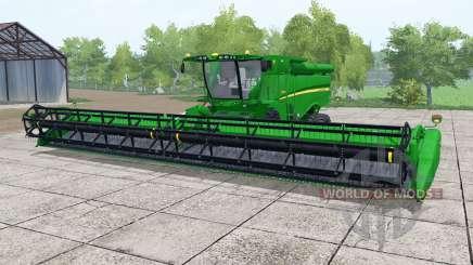 John Deere S690i islamic green pour Farming Simulator 2017