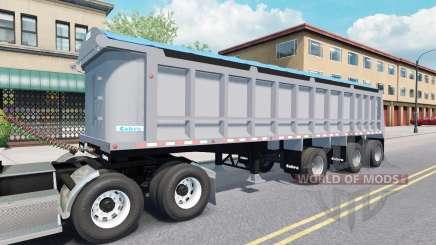 Semi-trailer tipper Cobra für American Truck Simulator