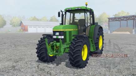 John Deere 6610 change wheels für Farming Simulator 2013