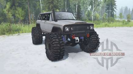 Jeep Wagoneer 1978 TTC pour MudRunner