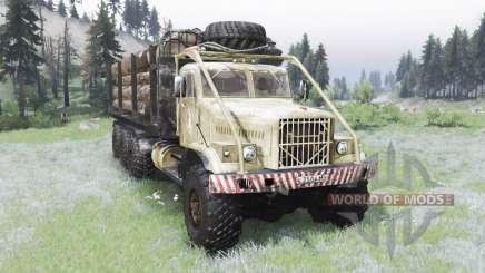 Le KrAZ-255B 8x8 pour Spin Tires