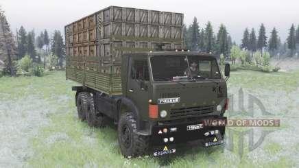 KamAZ-5320 pour Spin Tires