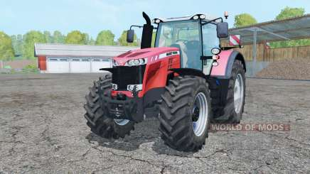 Massey Ferguson 8737 light red für Farming Simulator 2015
