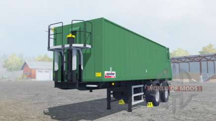 Kroger Agroliner SMK 34 green cyan pour Farming Simulator 2013