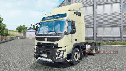 Volvo FMX 540 6x6 Globetrotter cab 2013 für Euro Truck Simulator 2