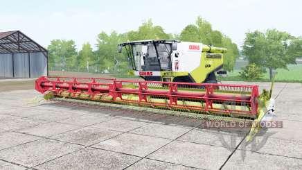 Claas Lexion 780 TerraTrac june bud pour Farming Simulator 2017
