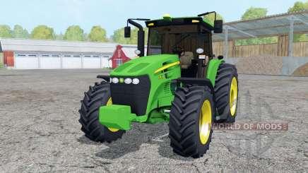 John Deere 7195J vivid malachite für Farming Simulator 2015