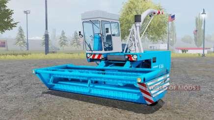 Fortschritt E-281 pure cyan für Farming Simulator 2013