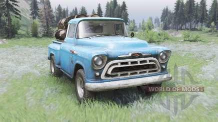Chevrolet 3100 Stepside 1957 für Spin Tires