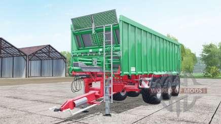 Kroger Agroliner TAW 30 lime green pour Farming Simulator 2017