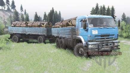 KamAZ-43118-24 2010 für Spin Tires