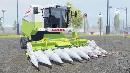 Claas Mega 370 TerraTrac moderate green für Farming Simulator 2013