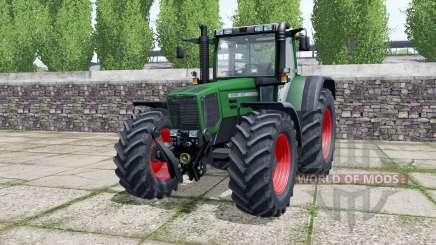 Fendt Favorit 824 dark lime green pour Farming Simulator 2017