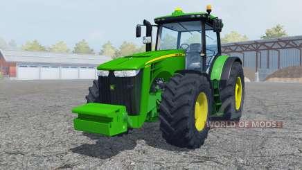 John Deere 8360R vivid malachite für Farming Simulator 2013